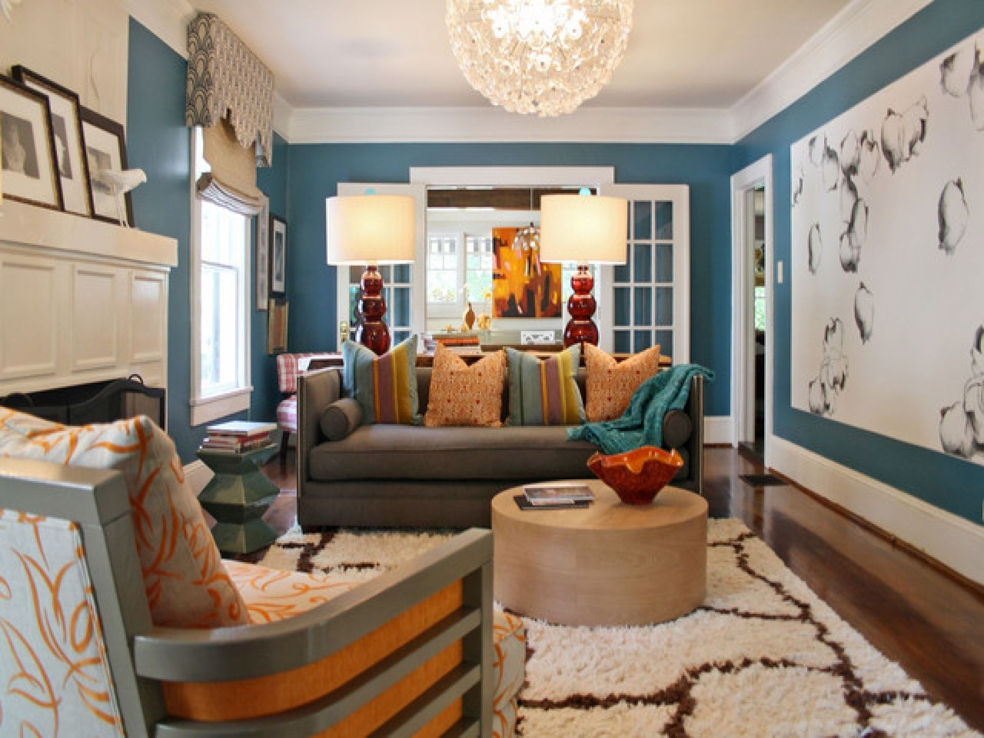 living room color schemes sure to brighten your mood room color