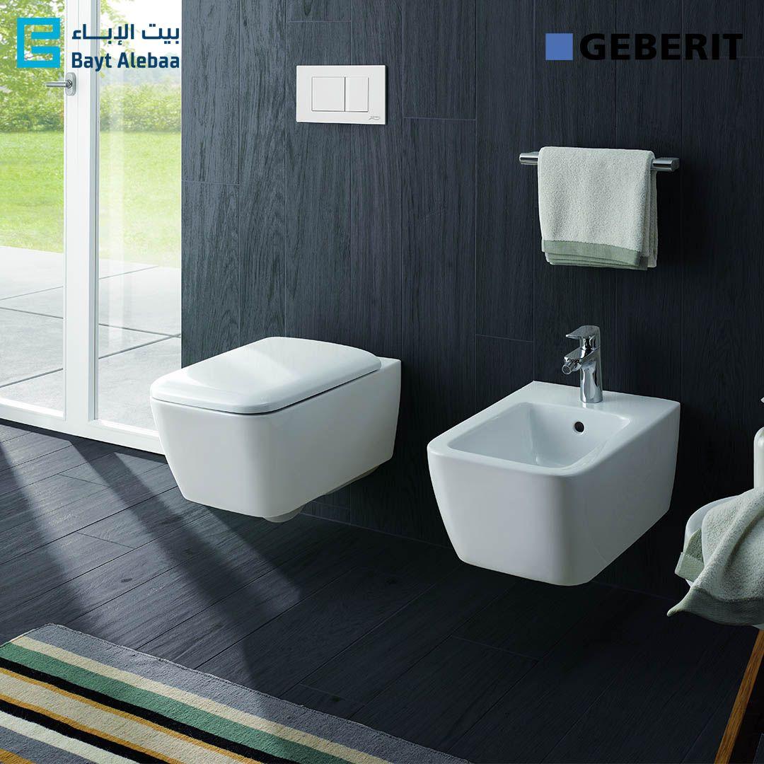 جيبيريت Icon ايكون عندما تلتقي التصاميم مع الأداء منتجات جديدة لدى بيت الإباء Geberit Baytalebaa Flexible Furniture Bathroom Design Small Elegant Bathroom