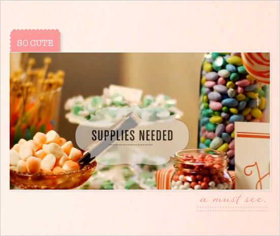 Do it yourself candy buffet buffet bar and tutorials do it yourself candy buffet solutioingenieria Image collections