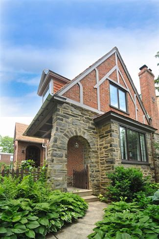 Stone And Brick Historic Home Romance Revival Built In 1928