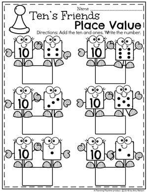 place value worksheets math worksheets for kids place value worksheets kindergarten math. Black Bedroom Furniture Sets. Home Design Ideas