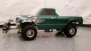 Details about RC 4X4 1:10 PULLING TRUCK Tamiya TLT JAWS Chassis