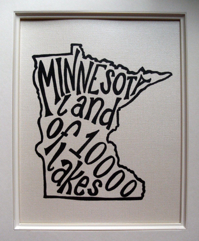 Minnesota Land Of Lakes
