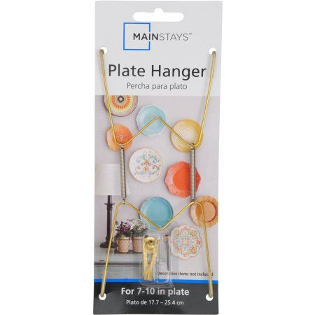 Ms Plate Hanger  sc 1 st  Pinterest & Ms Plate Hanger | Plate hangers Walmart and Products