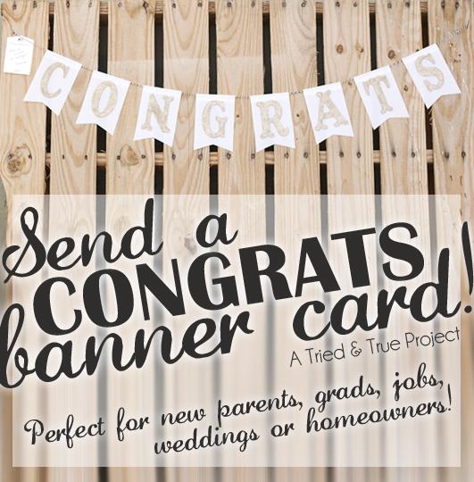 send a congrats banner card craft ideas pinterest banners and