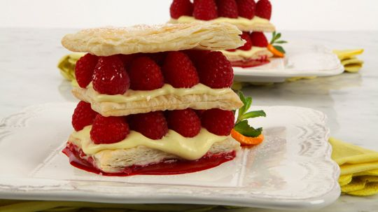 To serve drizzle 2 tbsp 25 ml of the raspberry sauce onto each of recipes forumfinder Gallery