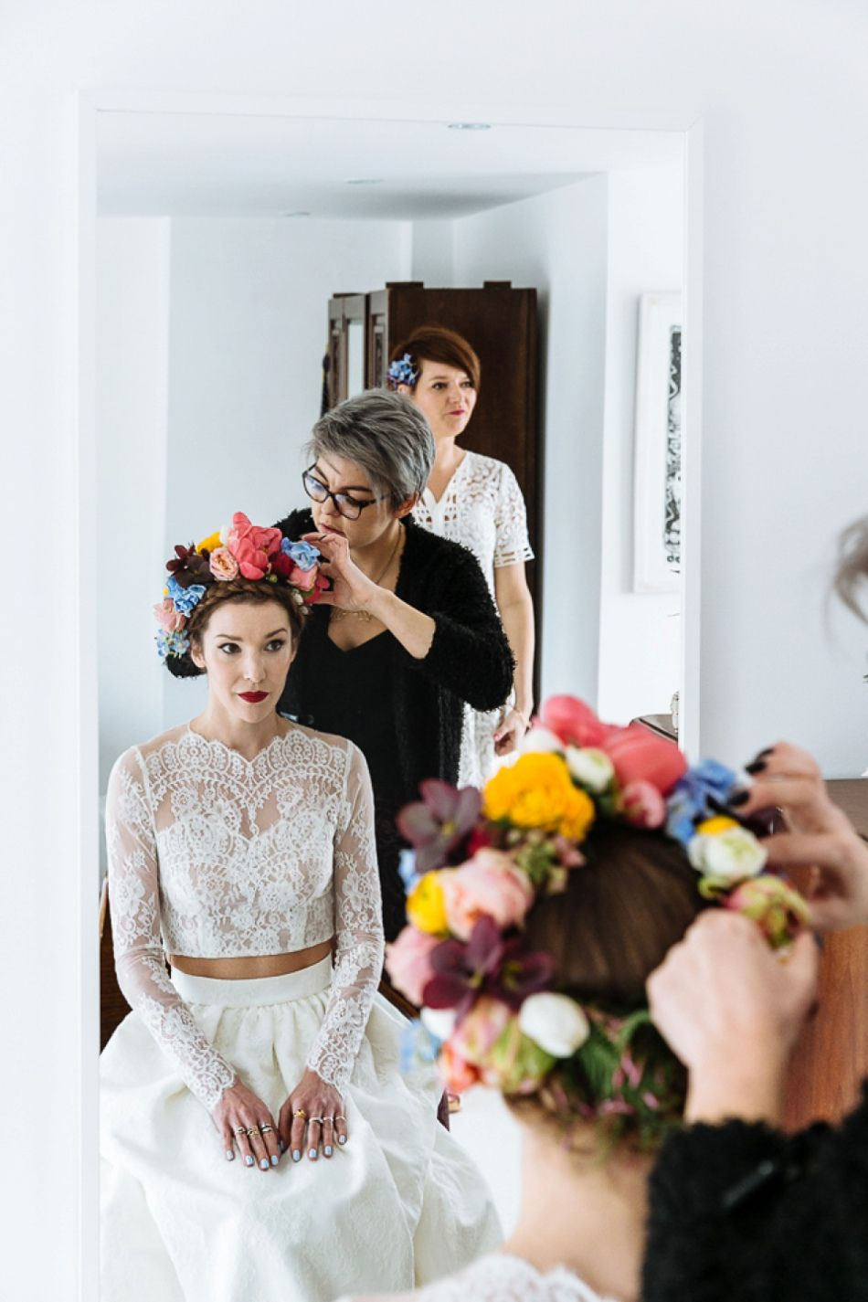 A Colourful and Cool East London and Frida Kahlo Inspired Wedding ...