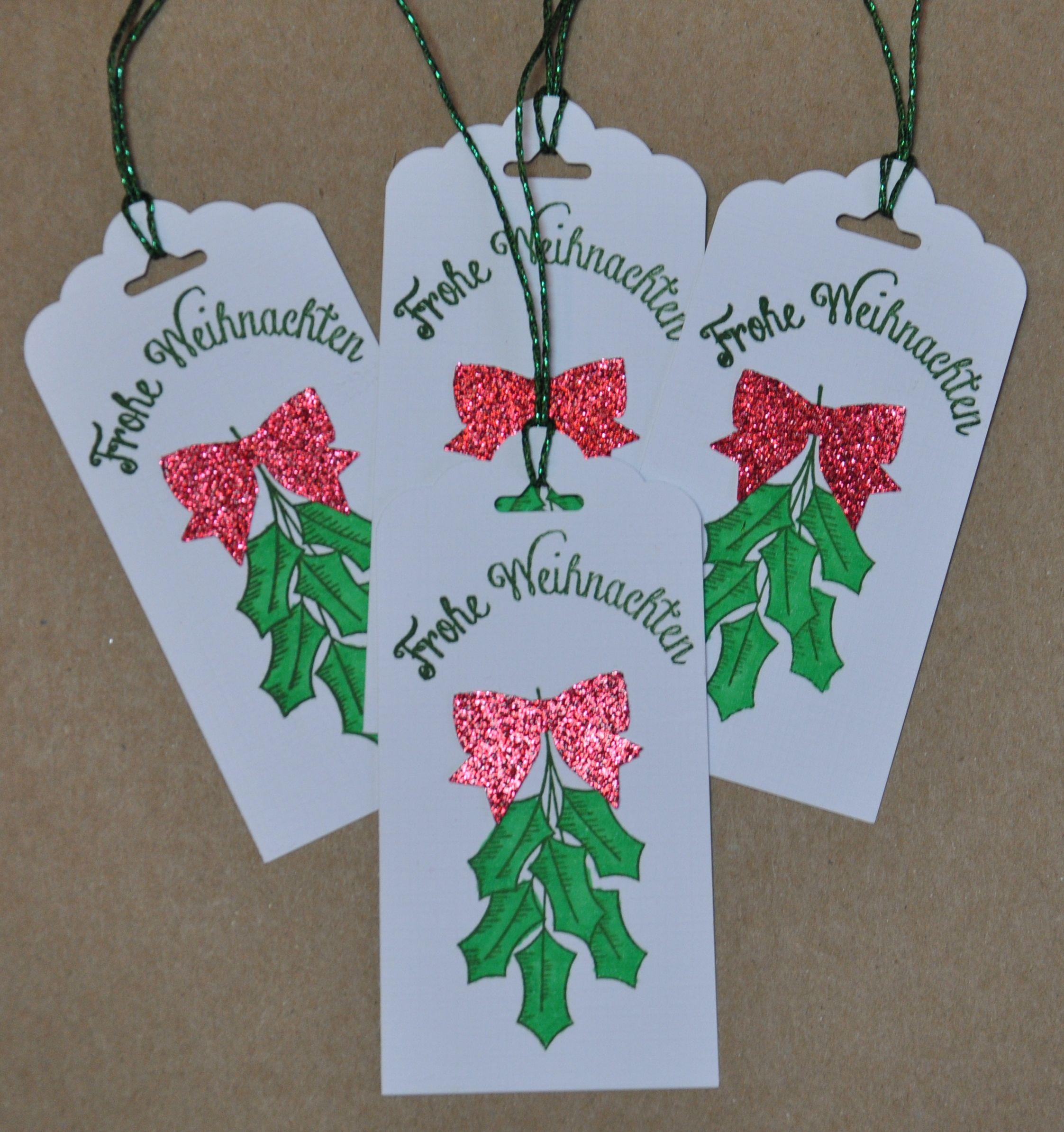 Christmas Tags - handmade by Scrapaholic