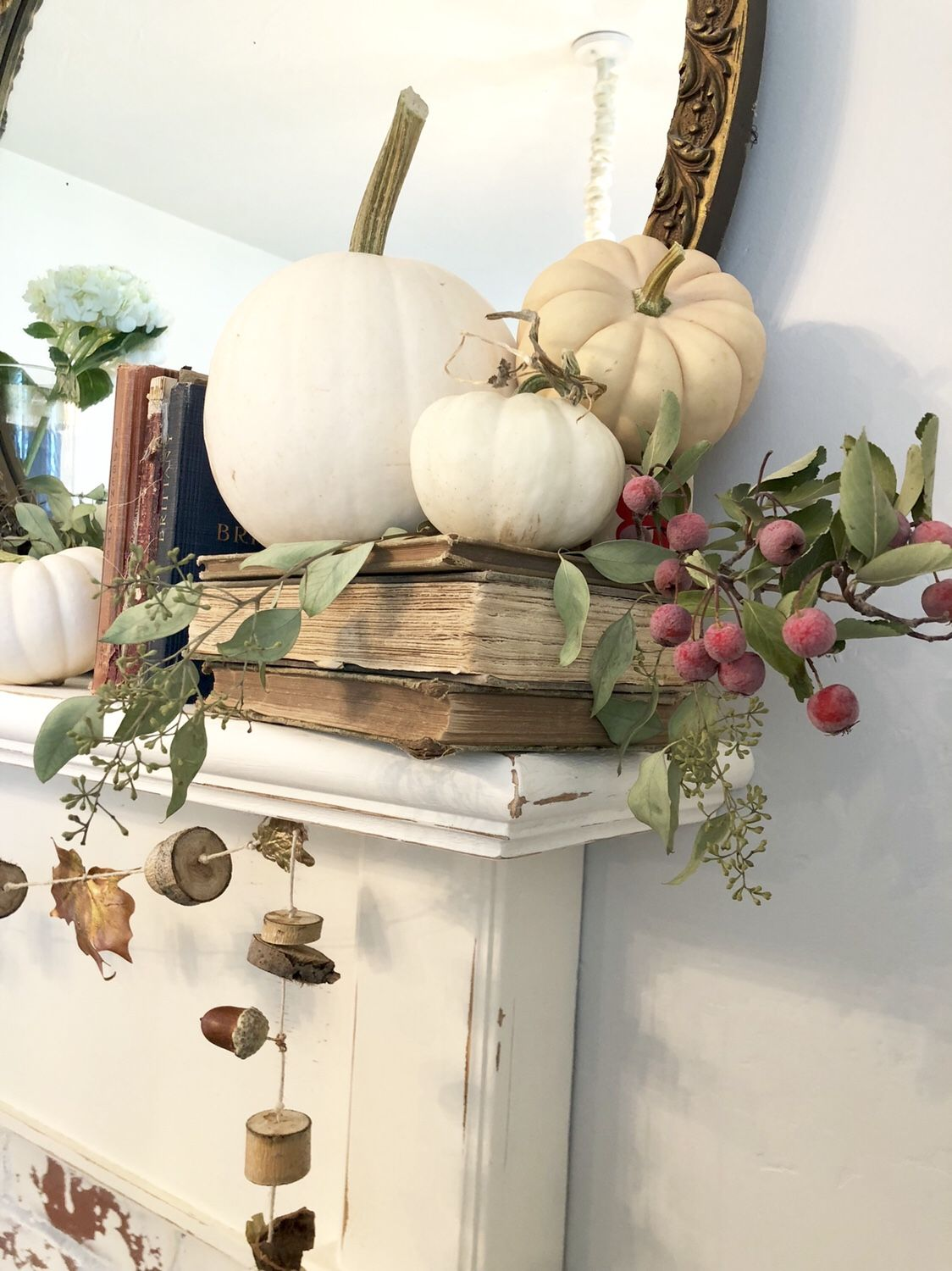 All things autumn ~ home tour ~ LeCultivateur #fallmantledecor