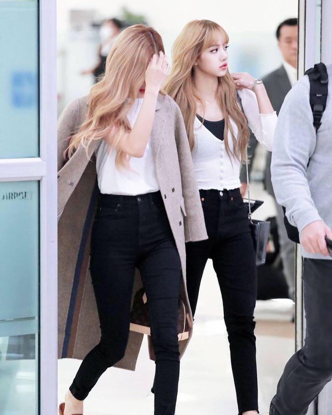 Instagram Kpop Girls Black Jeans Blackpink