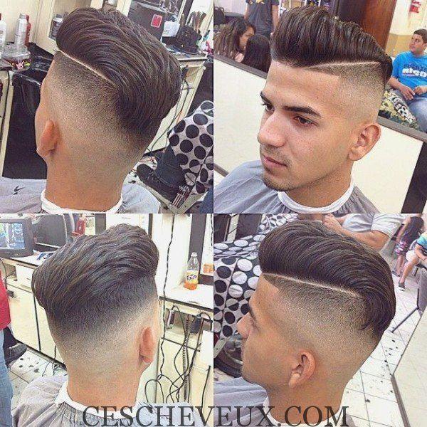 Les cheveux courts en contre-dépouille-2017 | coiffure homme 2016 ...