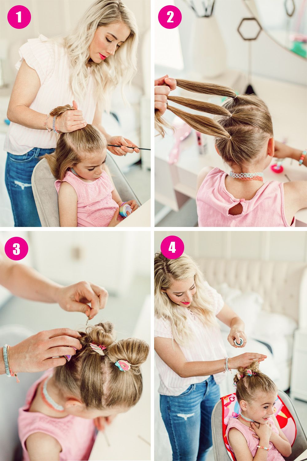 Sunny Day Hairstyle with Savy! - Twist Me Pretty
