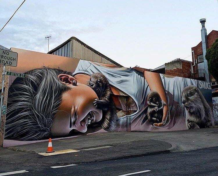 RT @GoogleStreetArt: New Street Art by Smug One in Melbourne    #art #mural #graffiti #streetart https://t.co/w3xIzvoSLh