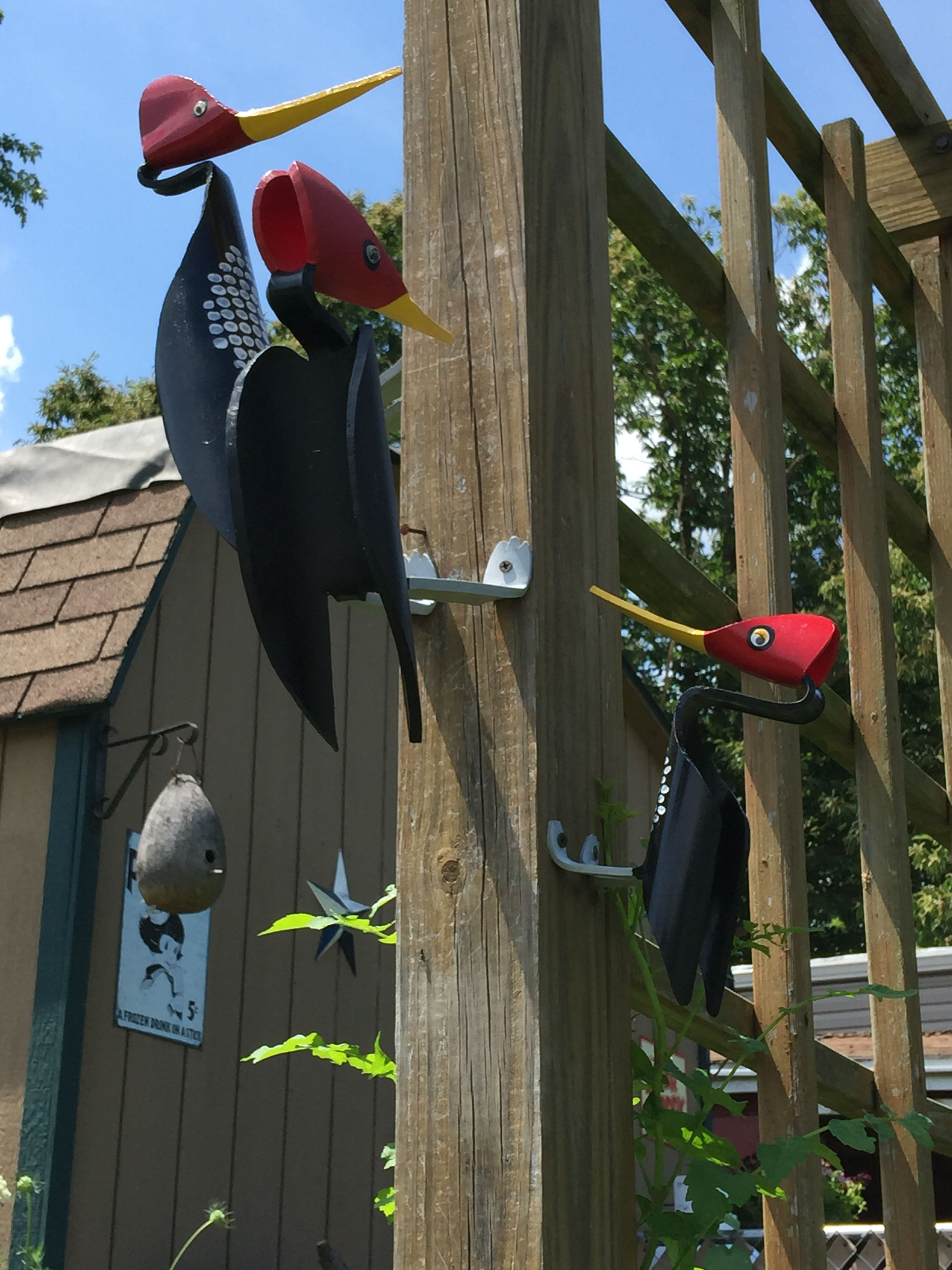 PVC Woodpecker Large Size