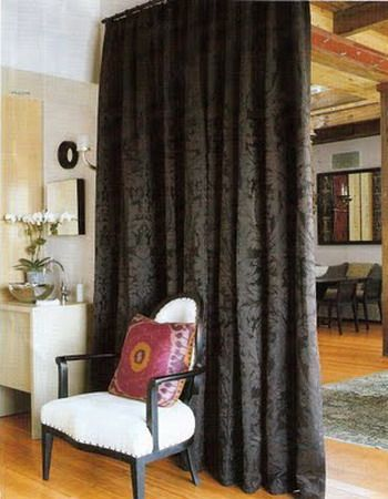 Curtains To Separate Rooms Curtain Room Divider Ideas Room
