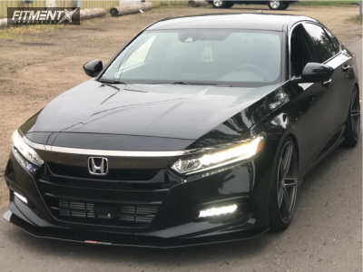 2018 Honda Accord Vossen Cv5 Toyo Extensa Hp Fitment