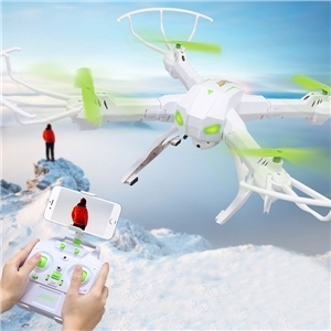(63.99$)  Buy here  - JJRC H19WH WIFI FPV with 2MP Camera Alitude Hold Headless Mode RC Quadcopter