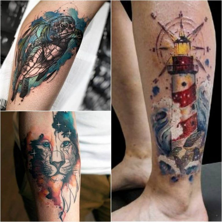 Watercolor Tattoo Designs Watercolor Tattoo Technique And Aftercare Tattoos For Guys Watercolour Tattoo Men Tattoos