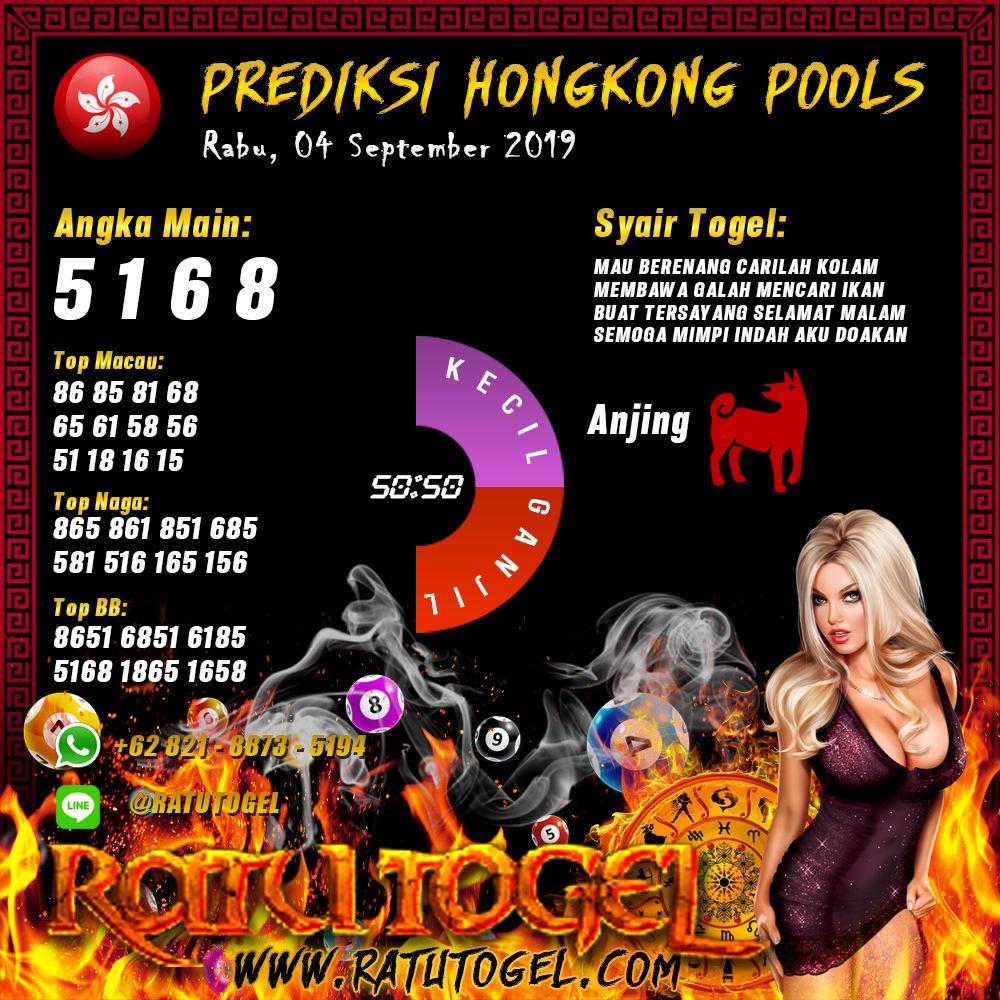 Prediksi Dan Syair Togel Hongkongpools Pools Rabu  September