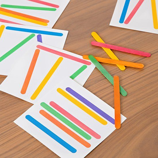 Download this free printable popsicle matching game for