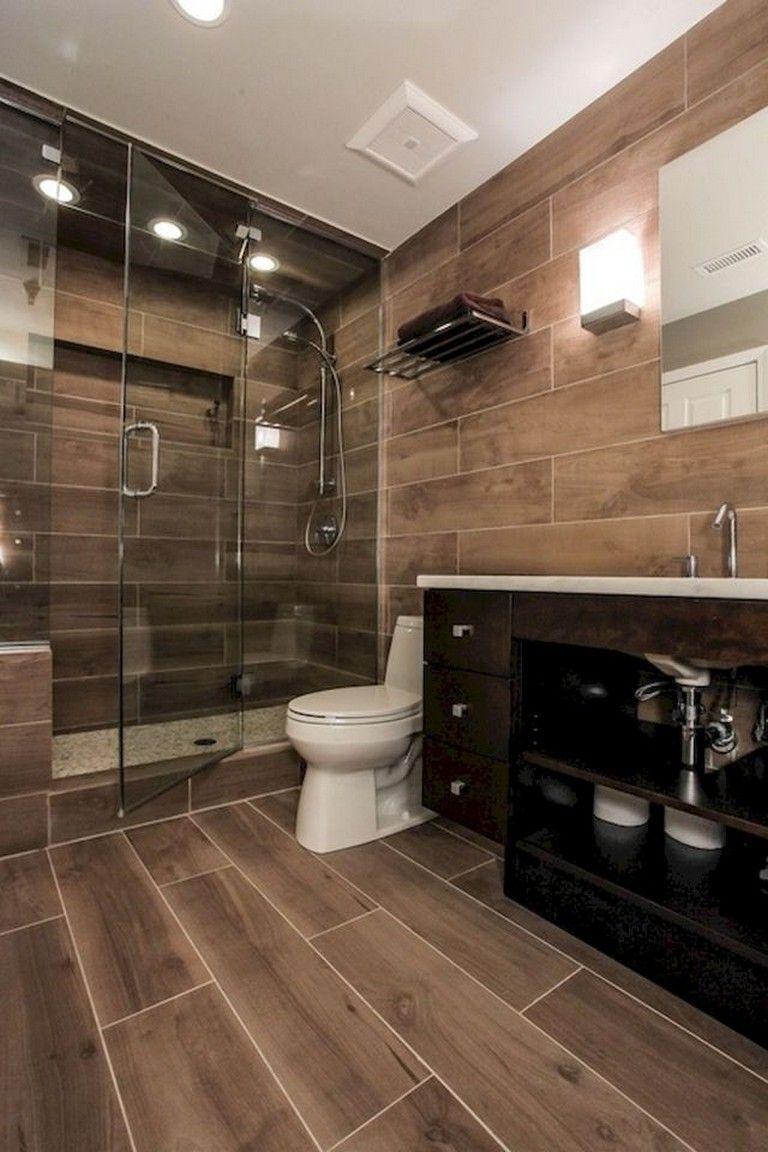 55 Subway Tile Bathroom Ideas That Will Inspire You Shower Tile Wood Tile Bathroom Wooden Tiles Bathroom