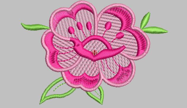 Bordados gratis rosa para ni as mandiles vestidos for Disenos para bordar