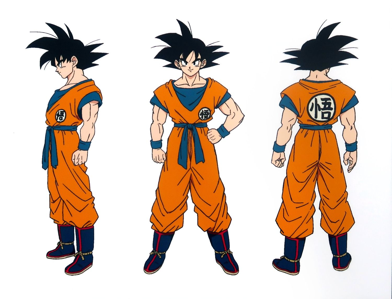 Goku Character Design