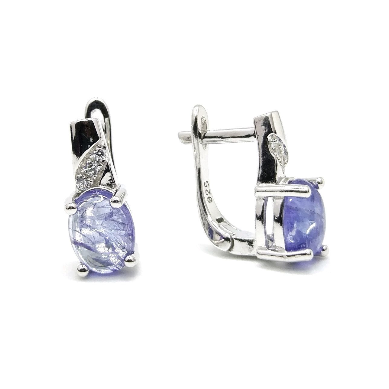 6f2445ac74c3 Серьги танзанит серебро 925 - купить или заказать в интернет ...