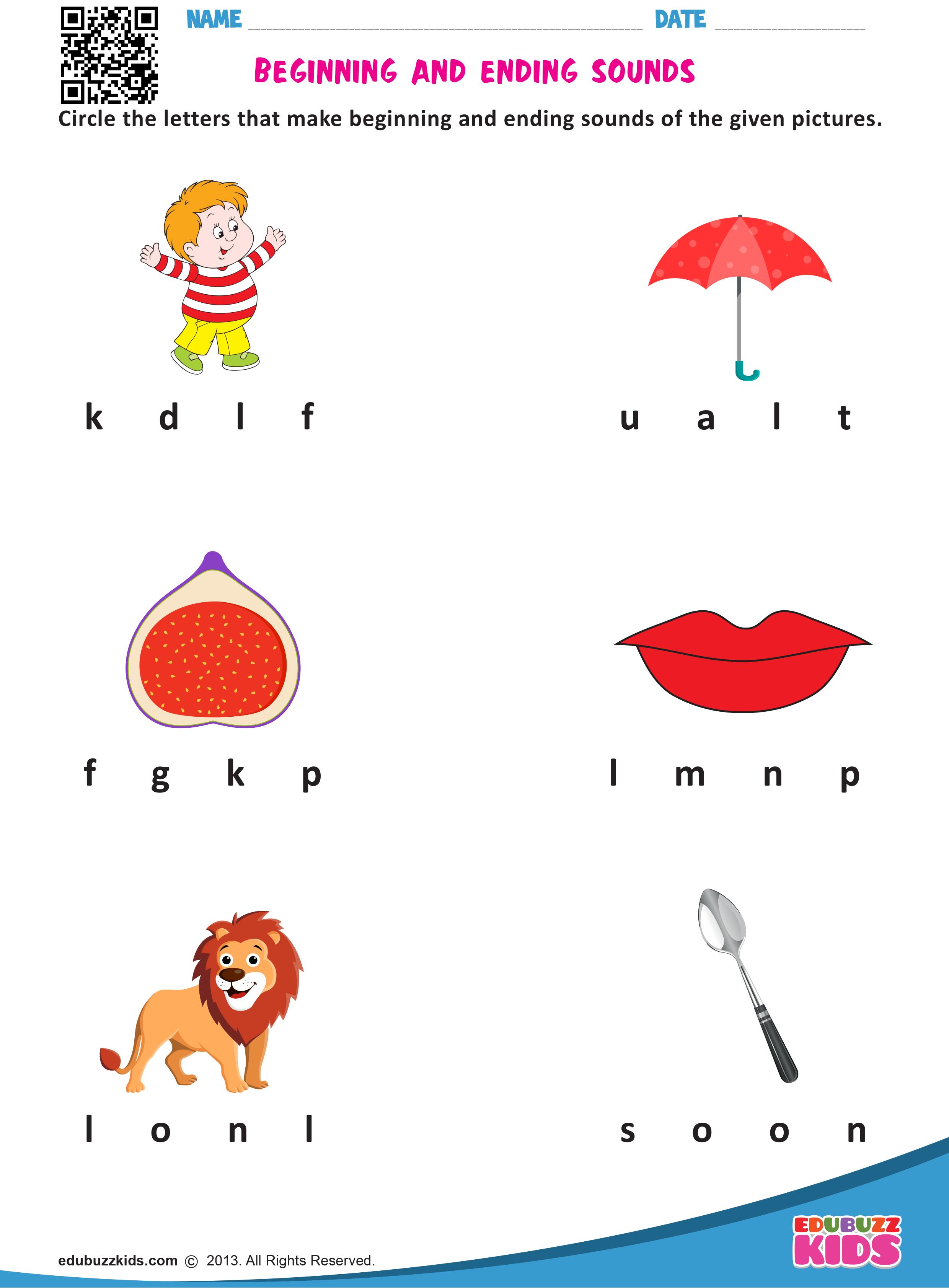 Printable Kindergarten Worksheets That Includes The