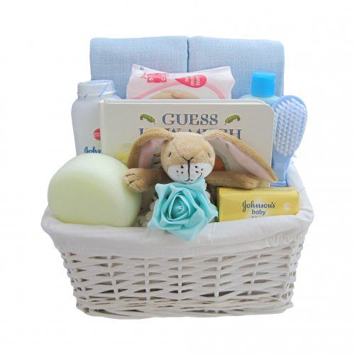 Baby Essentials Bunny Baby Boy Hamper | baby essentials ...