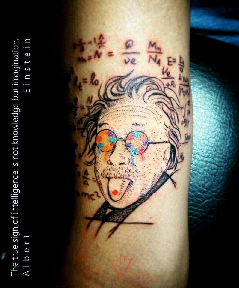 b06cdaa4375ef Lsd albert einstein tattoo design Void Tattoo addict | tattoo ...