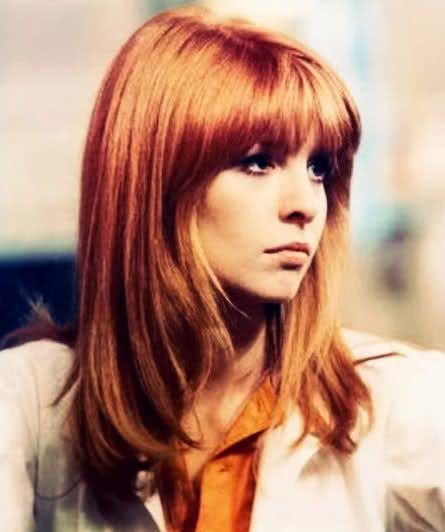 I've always loved Jane Asher's hair from the 60s...the angled bangs and pretty red