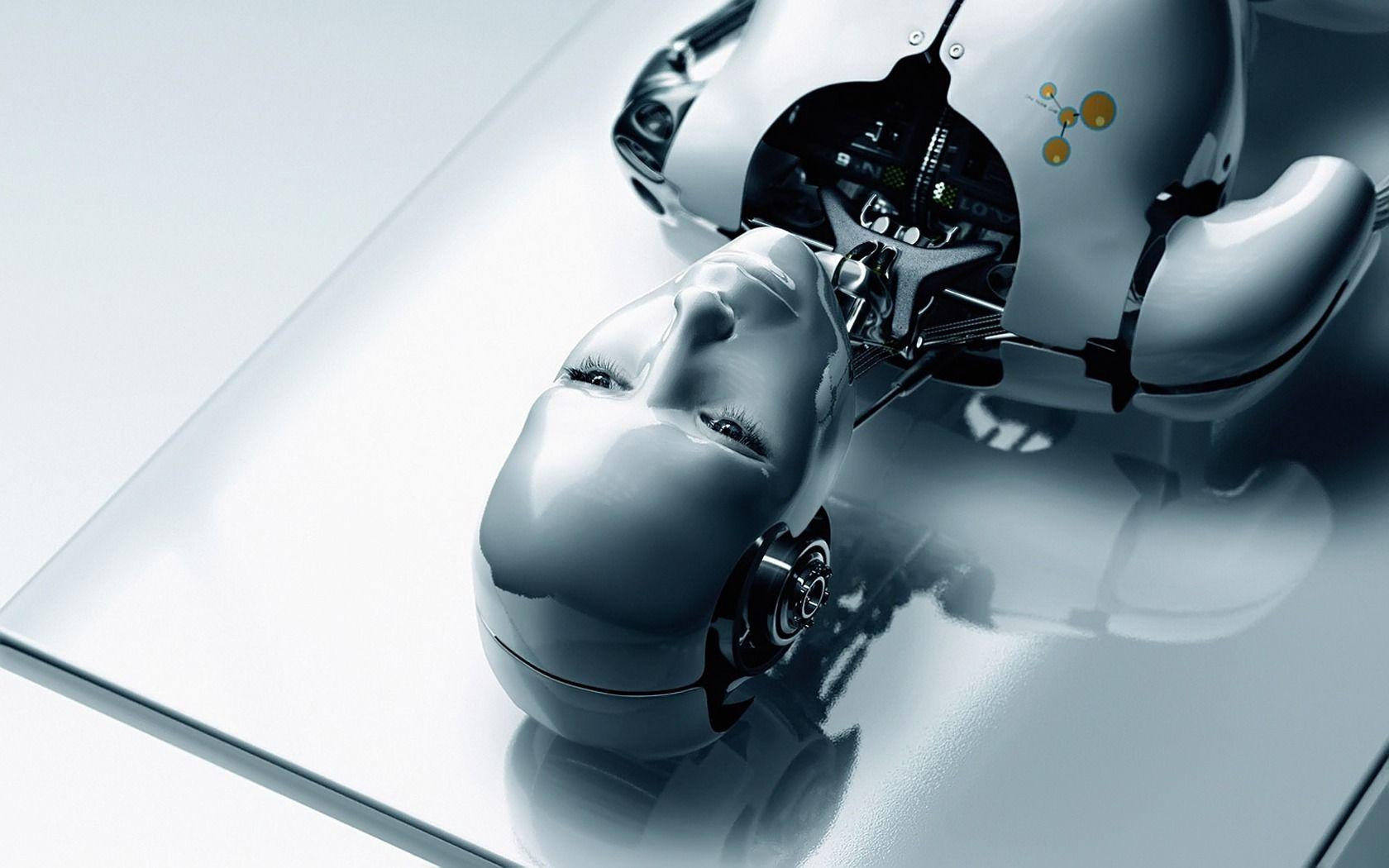 3d Human Robot Hd Wallpaper Hd Wallpaper Pinterest Robot