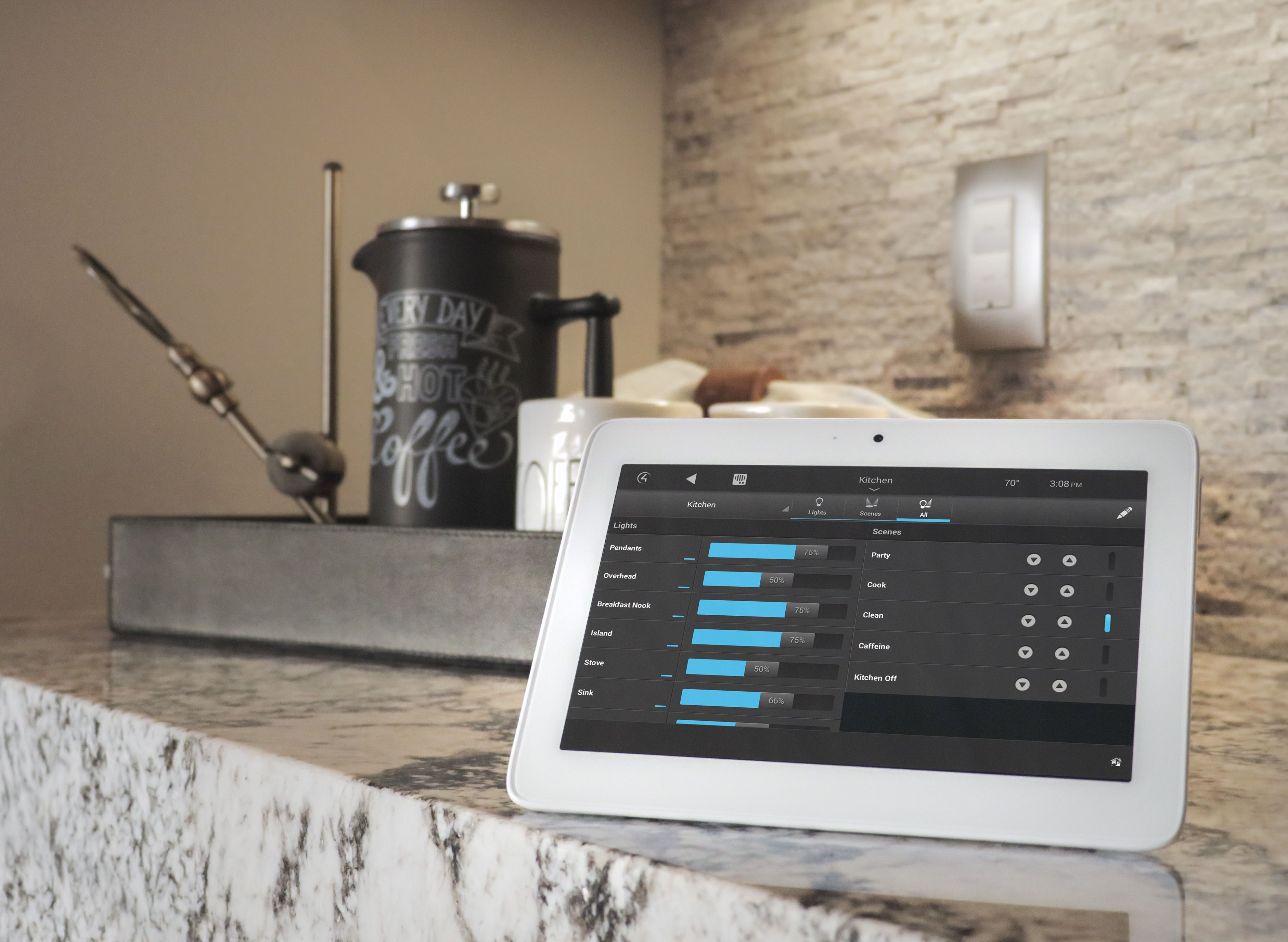 Set The Mood In Your Home With Smart Lighting Control From