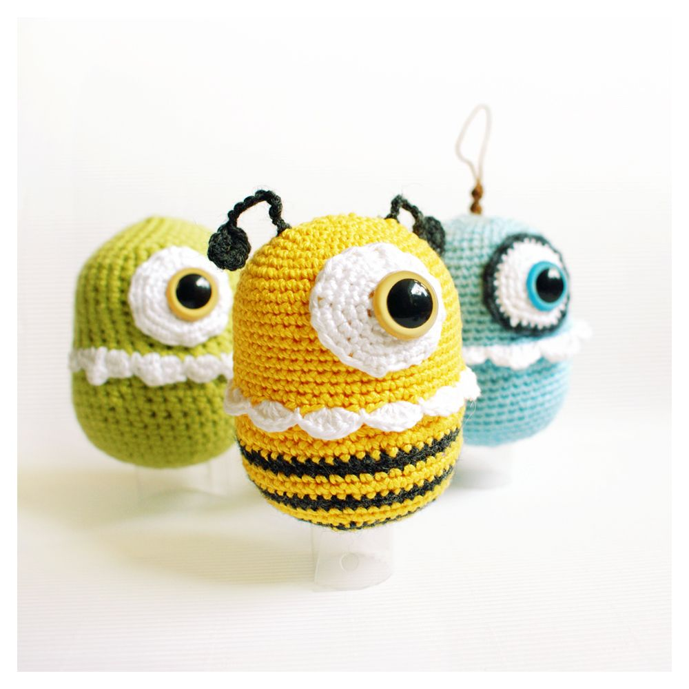 m⊙☉nster mania   goebie\'s crocheting   Pinterest   Überraschungsei ...