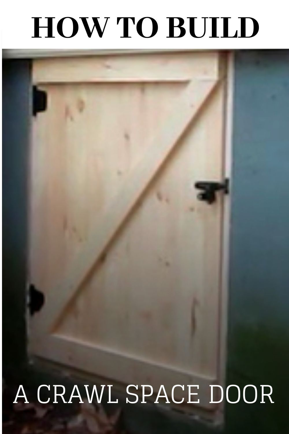 Crawl Space Door In 2020 Crawl Space Door Crawlspace Crawl Space Cover