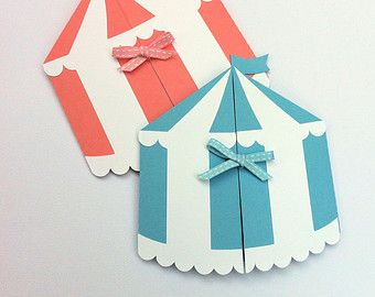 Circus Tent invitation folder. Circus carnival or by MyPaperPlanet  sc 1 st  Pinterest & Circus Tent invitation folder. Circus carnival or by MyPaperPlanet ...
