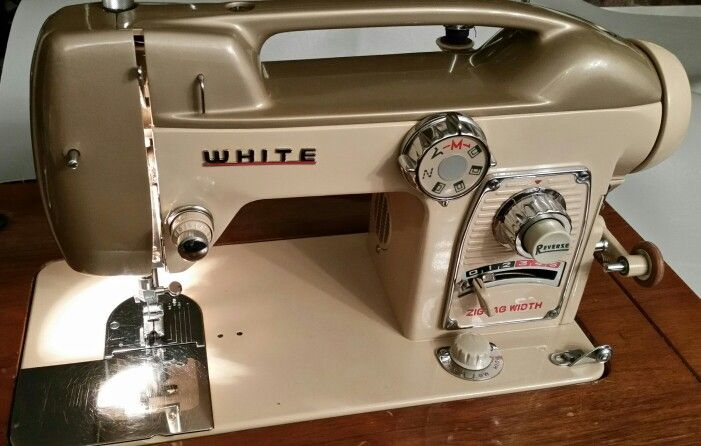 White Sewing Machine Model 764 Introduced By The Company At World S Fair In 1964 Known As Lady