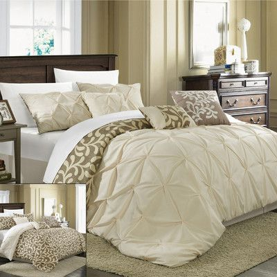 Chic Home Trenton 7 Piece Comforter Set & Reviews | Wayfair