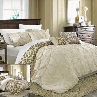 Chic Home Trenton 7 Piece Comforter Set & Reviews   Wayfair