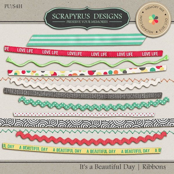 It's a Beautiful Day | Ribbons