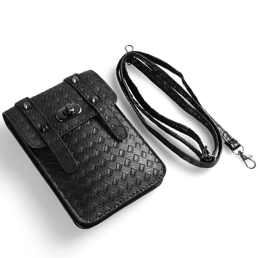Details about women silver cross body bag cell phone pouch