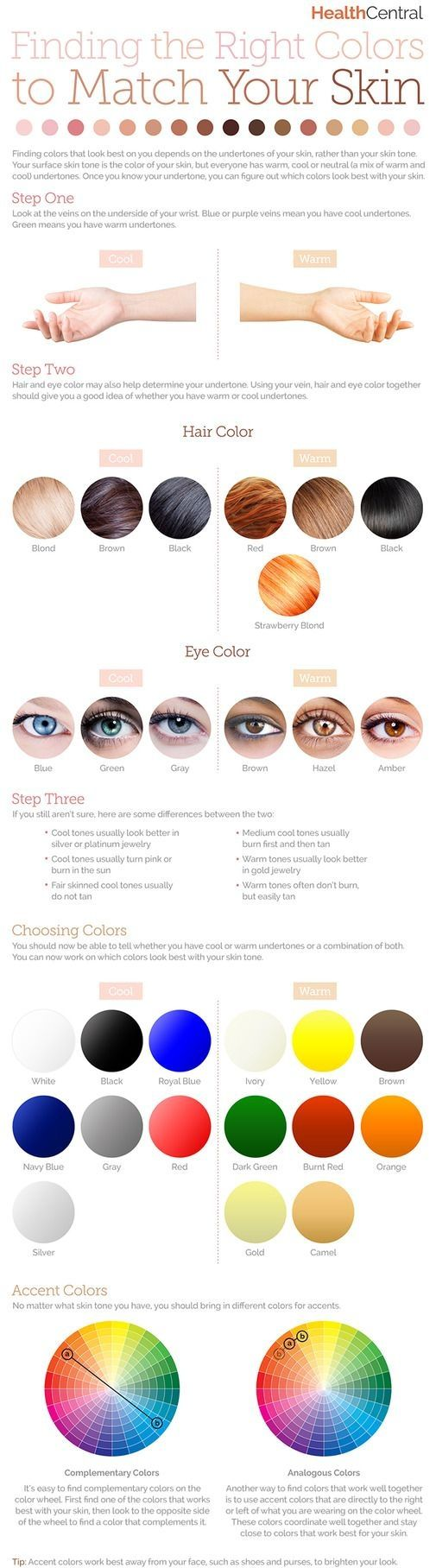 2. How to Find the #Right Colors to #Match Your Skin - Dewy Skin Trend:… #Proper