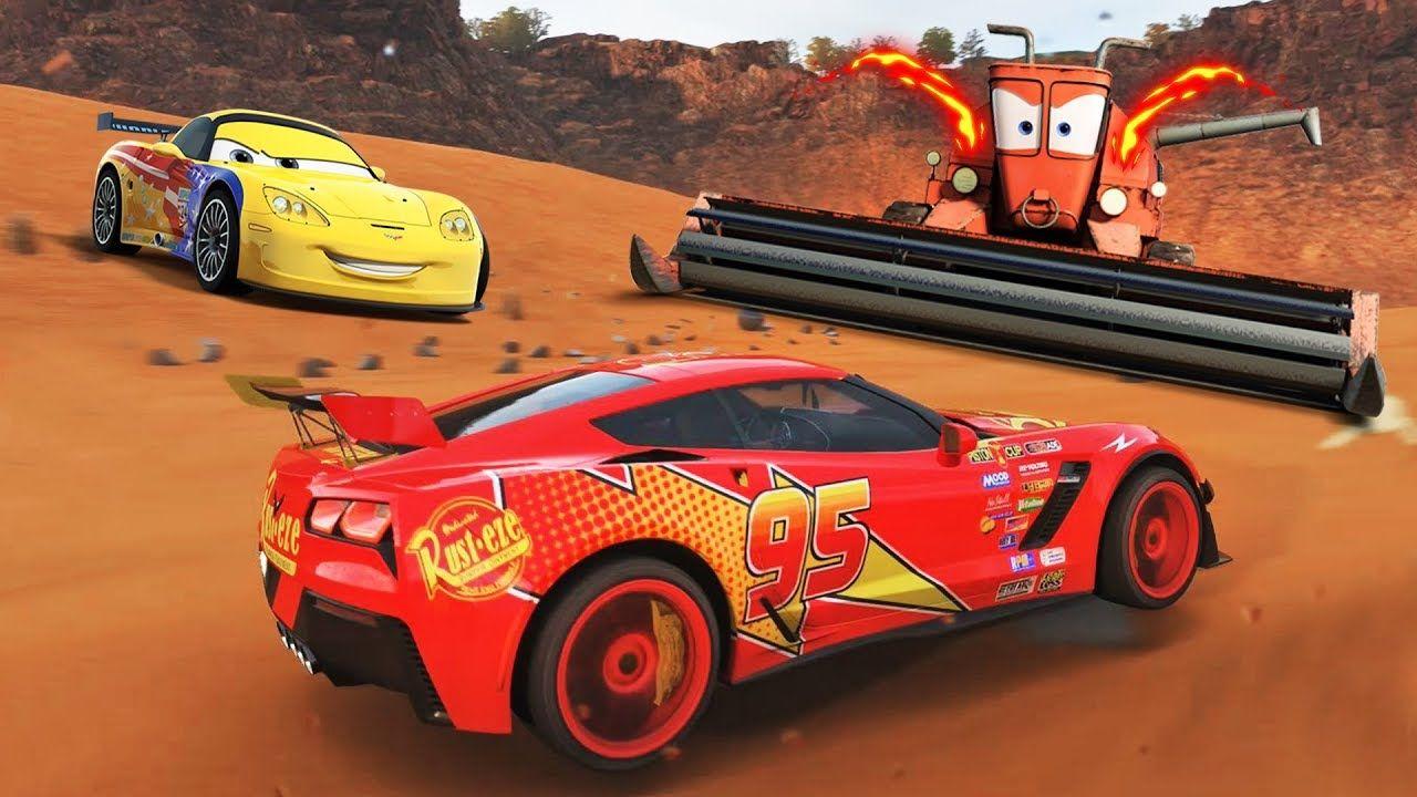 Cars mcqueen forza horizon 4 gameplay