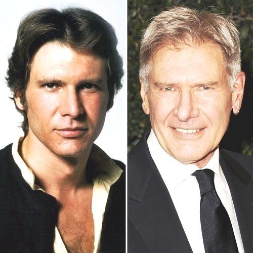 Its Harrison Fords 73rd Birthday — See the Original Trilogy Star Wars Cast Then and Now!