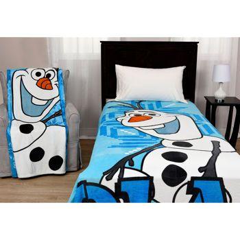 Disney Olaf Raschel Blanket And Plush Throw Deal Costco Olaf