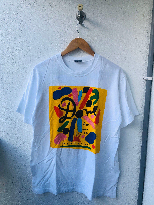 Vintage Original 90 S Ken Done Australian Artist Etsy Used Clothing Vintage Shirts Cool T Shirts