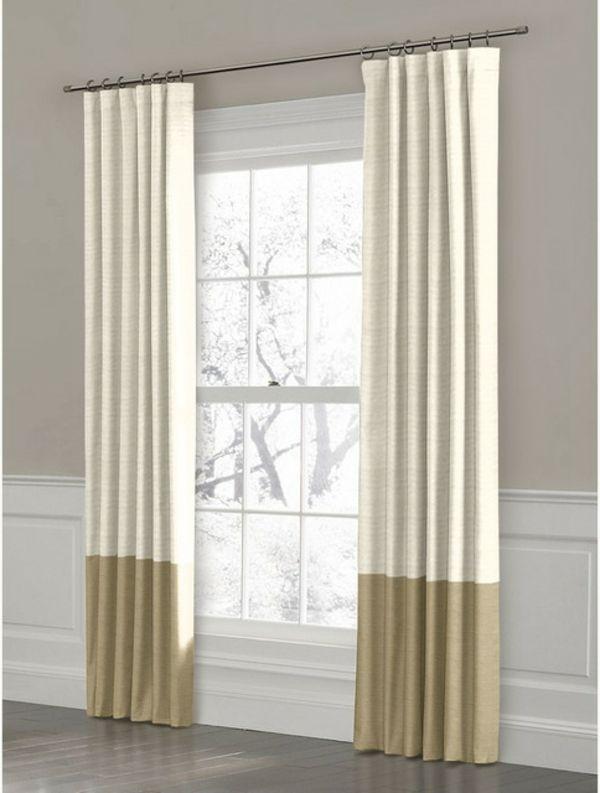 Les rideaux en lin naturel simbolisent le confort et l\'élégance à la ...
