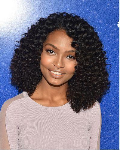 Yara1 Black Celebrity Kids Big Curly Hair Curly Hair Styles Short Hair Wigs