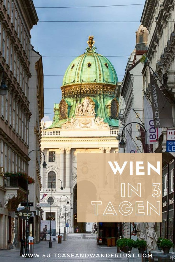 Wien in 3 Tagen. Dein Programm